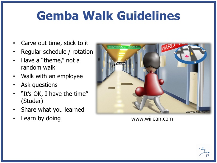 Check The List Of Dos And Don'ts During A Gemba Walk
